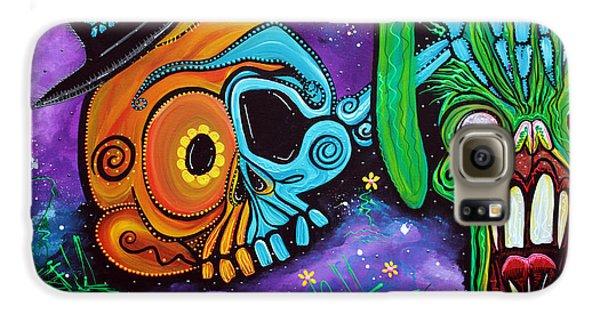 Voodoo Galaxy S6 Case - Magician De Los Muertos by Laura Barbosa
