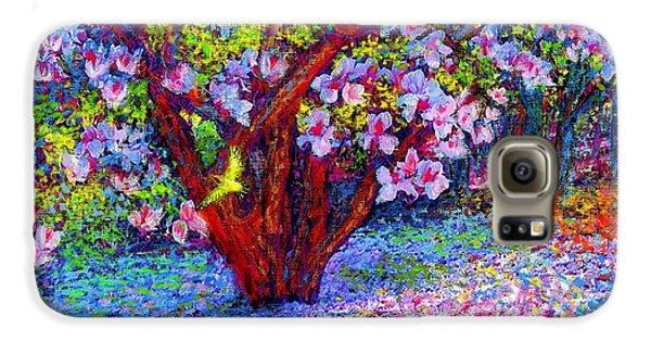 Tulip Galaxy S6 Case - Magnolia Melody by Jane Small