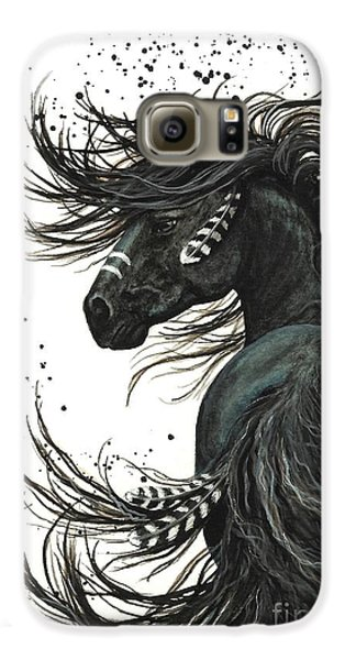 Majestic Spirit Horse 65 Galaxy S6 Case by AmyLyn Bihrle