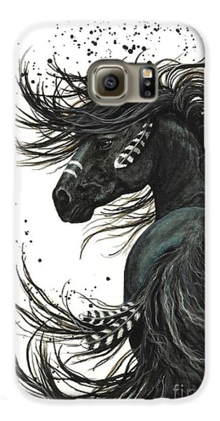 Horse Galaxy S6 Case - Majestic Spirit Horse  by AmyLyn Bihrle