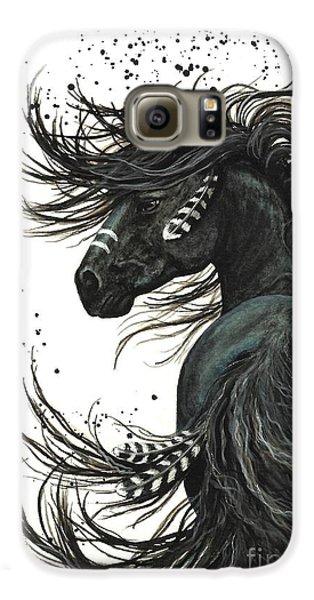 Animals Galaxy S6 Case - Majestic Spirit Horse  by AmyLyn Bihrle