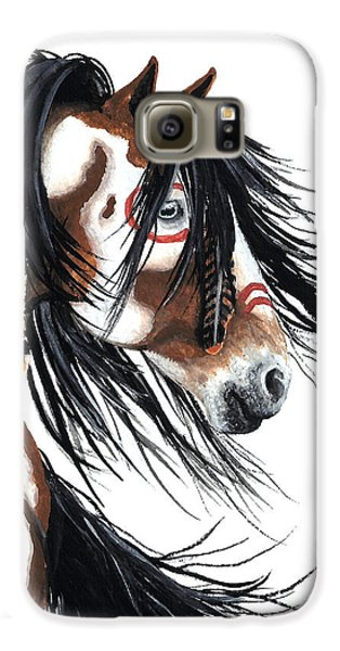 Horse Galaxy S6 Case - Majestic Pinto Horse by AmyLyn Bihrle