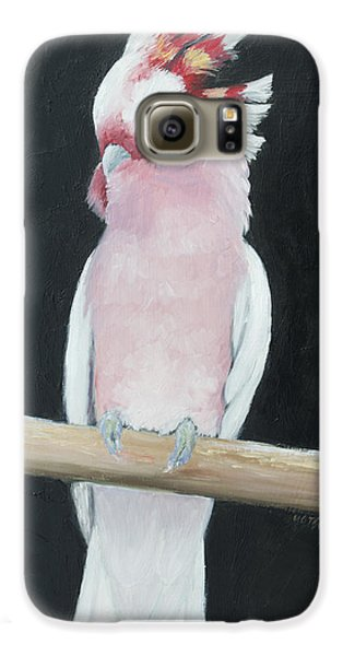 Major Mitchell Cockatoo Galaxy S6 Case by Jan Matson