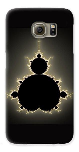 Mandelbrot Set Square Format Art Galaxy S6 Case