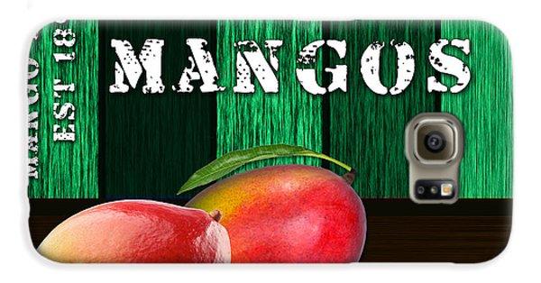 Mango Farm Sign Galaxy S6 Case