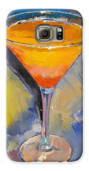 Mango Martini Galaxy S6 Case by Michael Creese