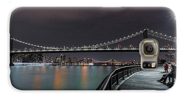 Manhattan Bridge - New York - Usa 2 Galaxy S6 Case
