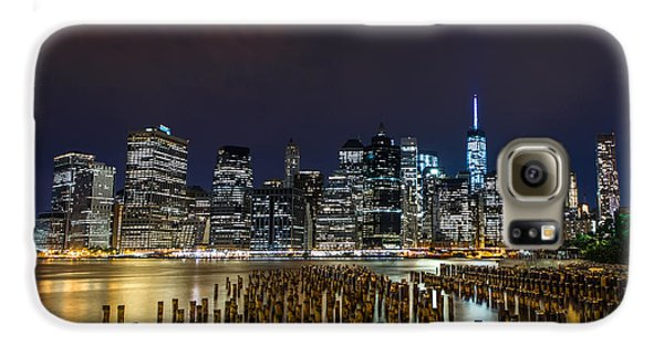 Manhattan Skyline - New York - Usa Galaxy S6 Case by Larry Marshall