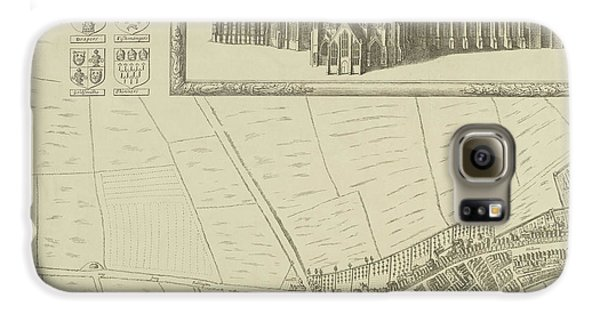 Map Of Westminster In The City Of London Galaxy S6 Case by British Library