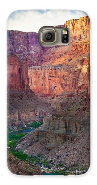 Marble Cliffs Galaxy S6 Case by Inge Johnsson