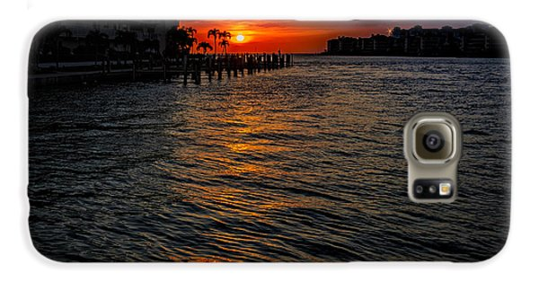 Marco Island Sunset 43 Galaxy S6 Case by Mark Myhaver