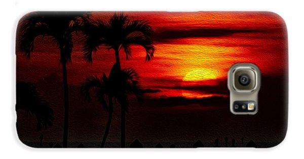Marco Island Sunset 59 Galaxy S6 Case