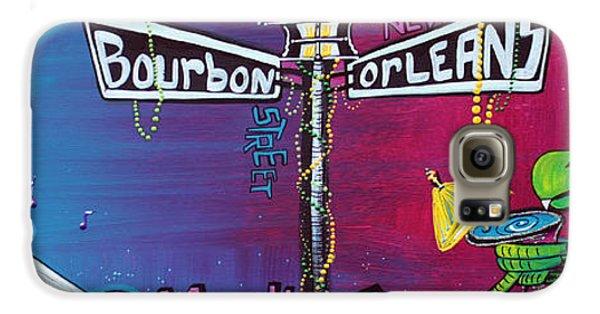 Voodoo Galaxy S6 Case - Mardi Gras Celebration by Laura Barbosa