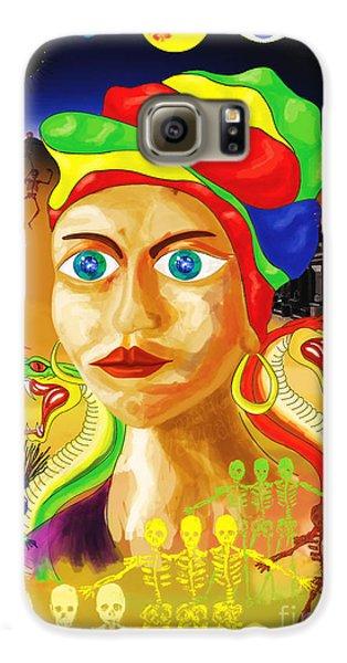 Voodoo Galaxy S6 Case - Marie Laveau by Neil Finnemore