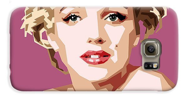 Marilyn Galaxy S6 Case by Douglas Simonson