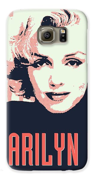 Marilyn M Galaxy S6 Case by Chungkong Art