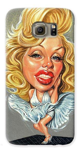 Marilyn Monroe Galaxy S6 Case by Art