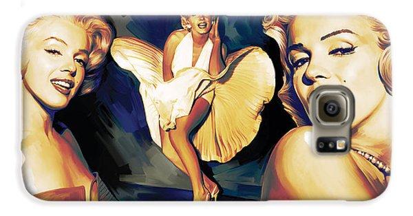 Marilyn Monroe Artwork 3 Galaxy S6 Case by Sheraz A