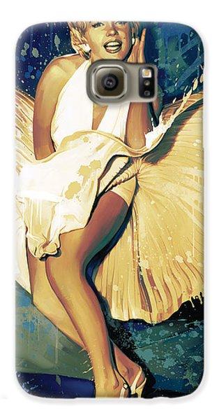Marilyn Monroe Artwork 4 Galaxy S6 Case by Sheraz A