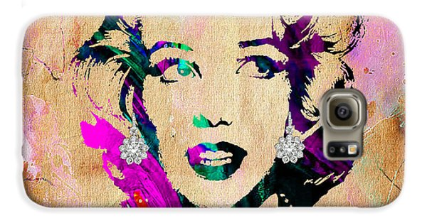 Marilyn Monroe Collection Galaxy S6 Case by Marvin Blaine