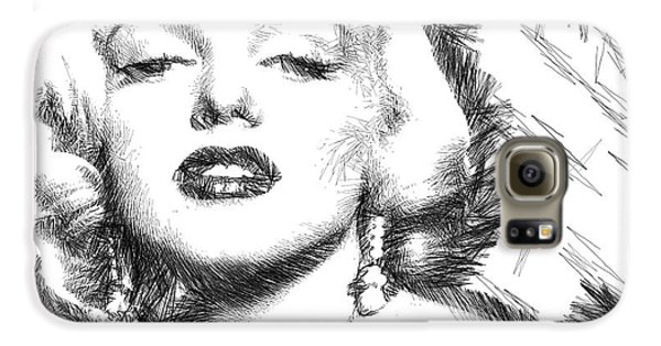 Marilyn Monroe - The One And Only  Galaxy S6 Case