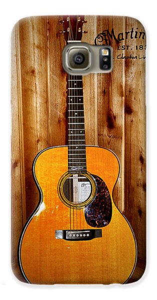 Martin Guitar - The Eric Clapton Limited Edition Galaxy S6 Case by Bill Cannon