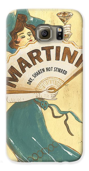 Martini Dry Galaxy S6 Case by Debbie DeWitt
