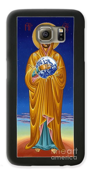 Mary Most Holy Mother Of All Nations 080 Galaxy S6 Case