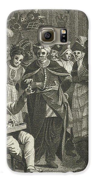 Masquerade, Lambertus Antonius Claessens Galaxy S6 Case by Lambertus Antonius Claessens