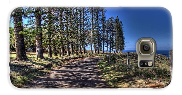 Maui Back Roads Galaxy S6 Case
