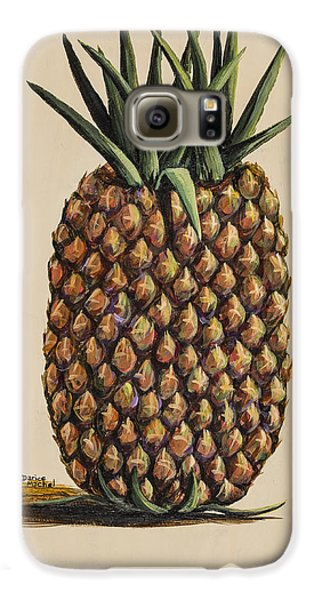 Maui Pineapple 3 Galaxy S6 Case