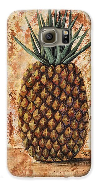 Maui Pineapple Galaxy S6 Case by Darice Machel McGuire