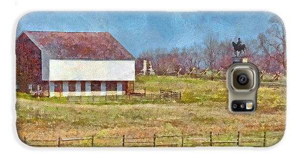 Mcpherson's Barn At Gettysburg National Military Park Galaxy S6 Case