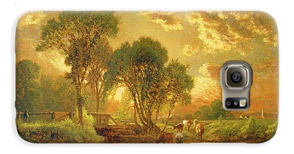 Landscape Galaxy S6 Case - Medfield Massachusetts by Inness