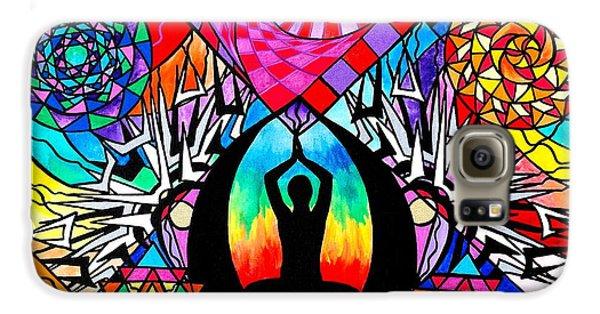 Swan Galaxy S6 Case - Meditation Aid by Teal Swan