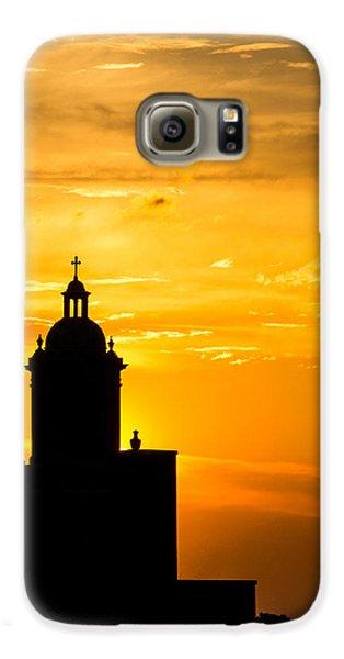 Meditative Sunset Galaxy S6 Case