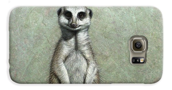 Meerkat Galaxy S6 Case by James W Johnson