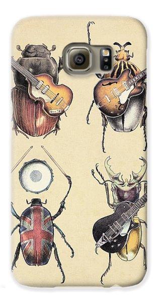 Meet The Beetles Galaxy S6 Case by Eric Fan