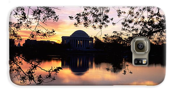 Memorial At The Waterfront, Jefferson Galaxy S6 Case by Panoramic Images