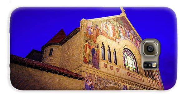 Memorial Church Stanford University Galaxy S6 Case by Scott McGuire