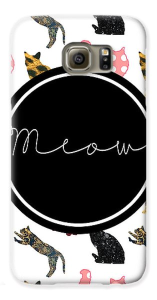 Cat Galaxy S6 Case - Meow by Pati Photography