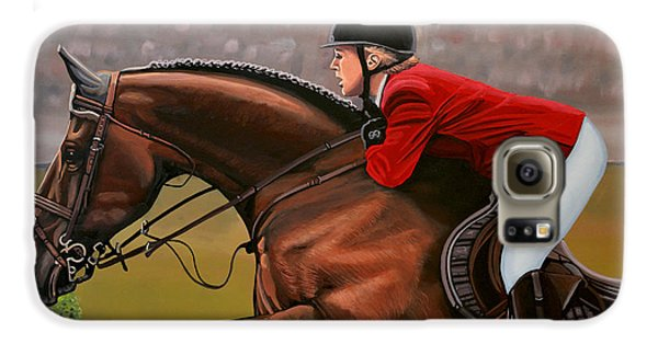 Horse Galaxy S6 Case - Meredith Michaels Beerbaum by Paul Meijering