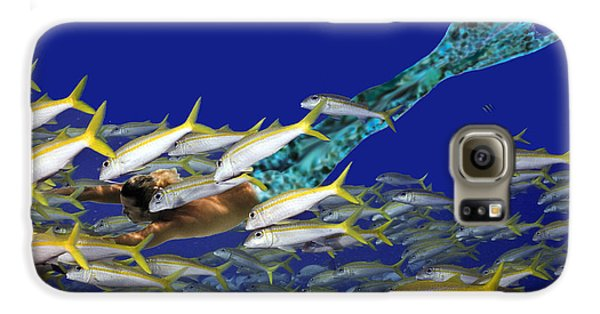 Merman Galaxy S6 Case