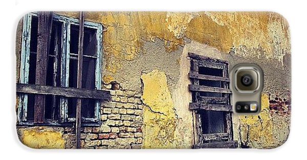 Architecture Galaxy S6 Case - #mgmarts #allshots_may12_yellow by Marianna Mills