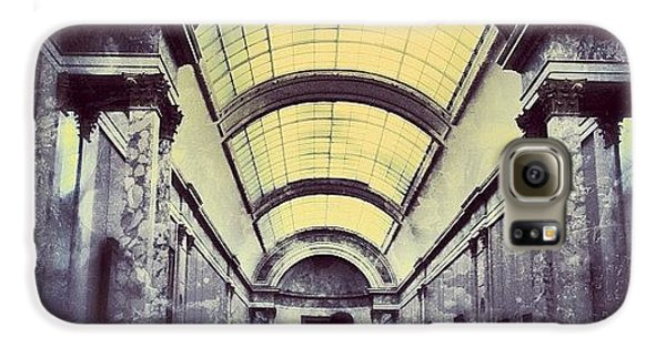 Architecture Galaxy S6 Case - #mgmarts #paris #france #europe #louvre by Marianna Mills