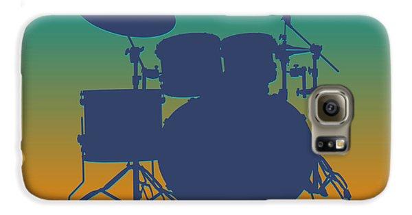 Miami Dolphins Drum Set Galaxy S6 Case by Joe Hamilton