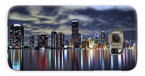 Miami Skyline Galaxy S6 Case by Gary Dean Mercer Clark