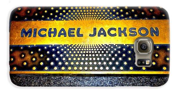 Michael Jackson Apollo Walk Of Fame Galaxy S6 Case by Ed Weidman