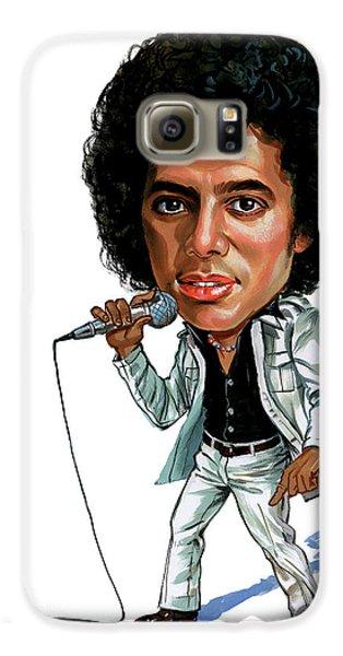 Michael Jackson Galaxy S6 Case by Art
