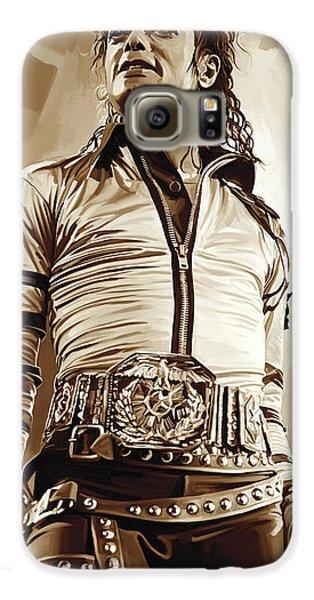 Michael Jackson Artwork 2 Galaxy S6 Case